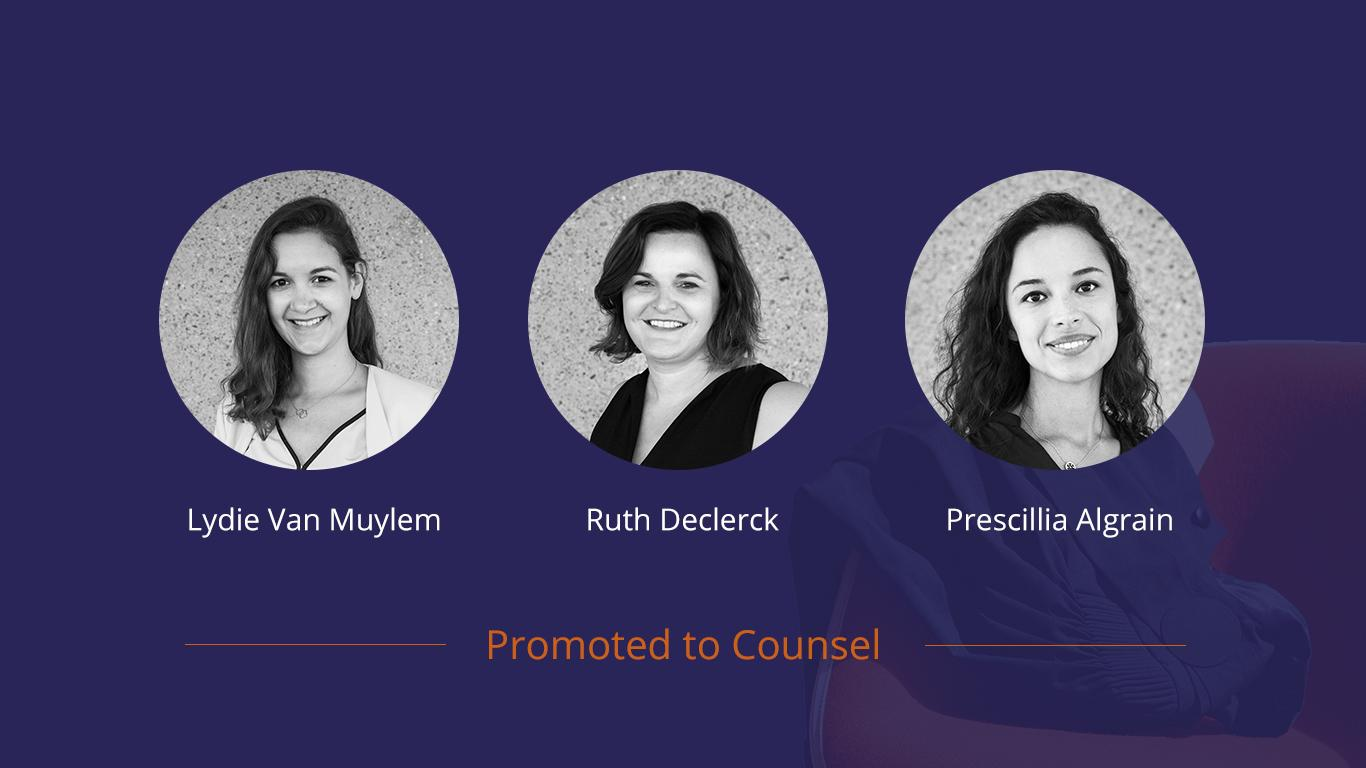 Janson promotes three women to Counsel